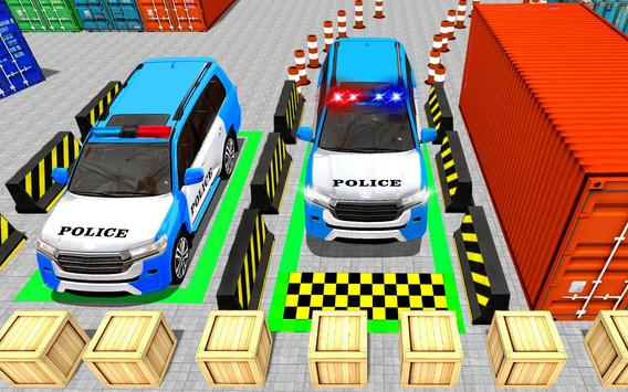 US Police Spooky Jeep Parking Simulator New Games screenshot 4