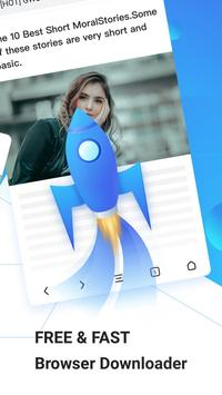 APUS Browser Ekran Görüntüsü 1