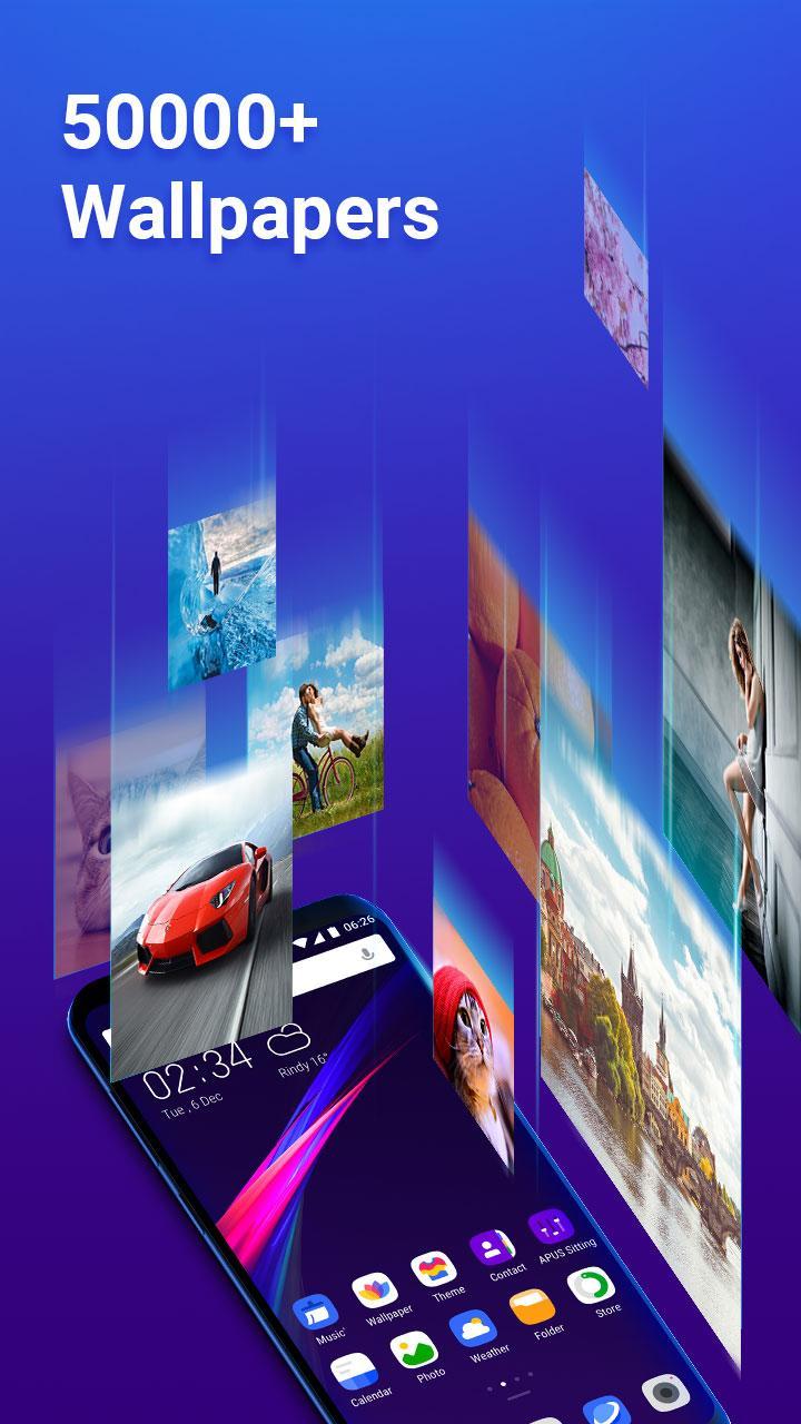 APUS Launcher Pro- Theme, Live Wallpapers, Smart APK 1.2.5 ...