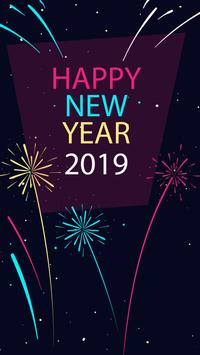 2019 New Year APUS Live Wallpaper screenshot 4