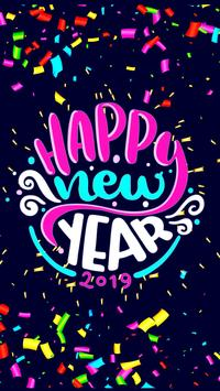 2019 New Year APUS Live Wallpaper screenshot 5