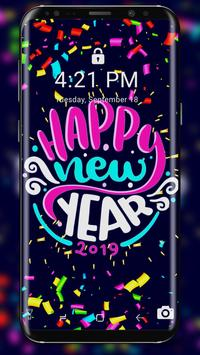 2019 New Year APUS Live Wallpaper poster