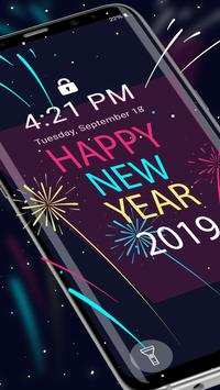 2019 New Year APUS Live Wallpaper screenshot 2