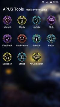 Year trace-APUS Launcher theme screenshot 2