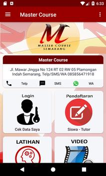 Master Course poster