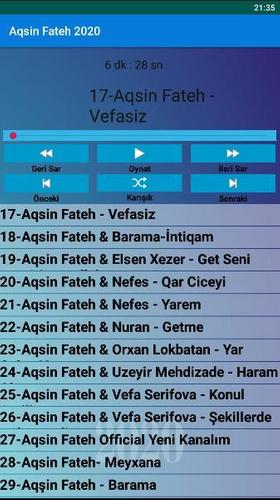 Aqsin Fateh Mahnilar 2020 Internetsiz For Android Apk Download