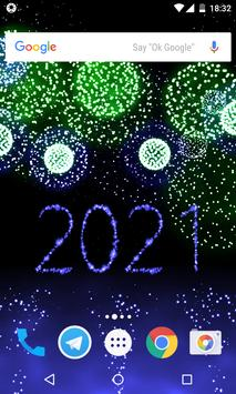 New Year 2021 Fireworks screenshot 1
