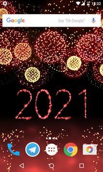 New Year 2021 Fireworks screenshot 2