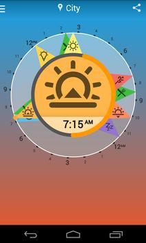 Solar Clock: Circadian Rhythm poster