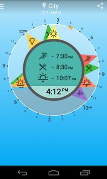 Solar Clock: Circadian Rhythm screenshot 1
