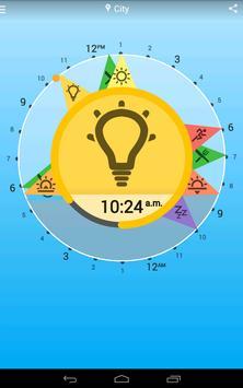 Solar Clock: Circadian Rhythm screenshot 9