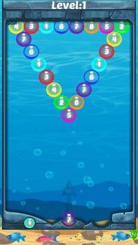 Aqua Color Number Shooter: Power pop screenshot 3