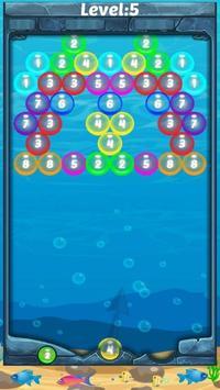 Aqua Color Number Shooter: Power pop screenshot 1