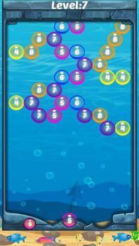 Aqua Color Number Shooter: Power pop screenshot 2