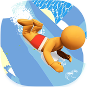 Aquapark Slide Race IO icon