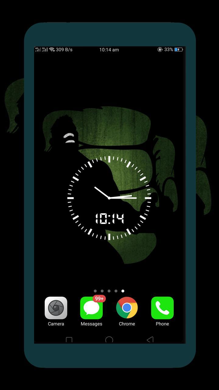 Android 用の 黒 夜 時計 暗い 壁紙 Hd 4k Apk をダウンロード