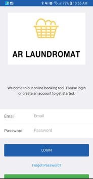 AR Laundromat - Laundry and Dry Cleaning poster