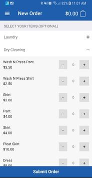AR Laundromat - Laundry and Dry Cleaning screenshot 2