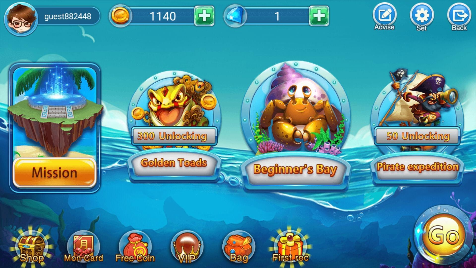 Fishing Games FIsh Live Diary Gun Shot tembak ikan for Android - APK