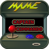 code captain commando arcade icon
