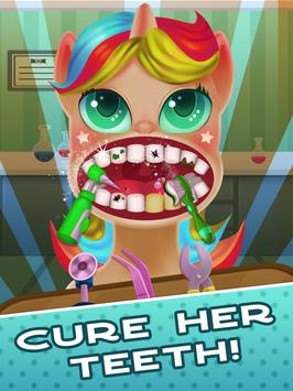 Tiny Pony Unicorn Dentist SIMULATOR screenshot 5