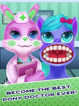 Tiny Pony Unicorn Dentist SIMULATOR screenshot 6