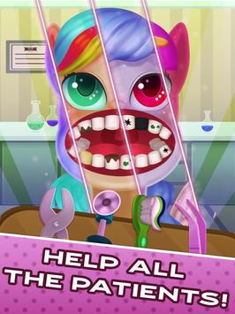 Tiny Pony Unicorn Dentist SIMULATOR screenshot 8