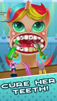 Tiny Pony Unicorn Dentist SIMULATOR screenshot 1