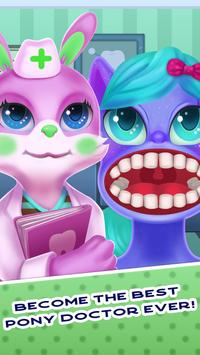 Tiny Pony Unicorn Dentist SIMULATOR screenshot 2