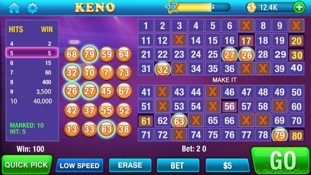 Keno screenshot 1
