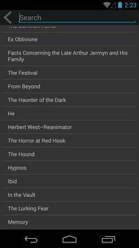 H.P. Lovecraft 스크린샷 1