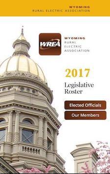 Wyoming Legislative Roster poster