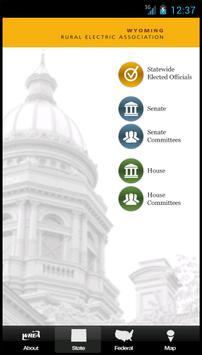 Wyoming Legislative Roster screenshot 2
