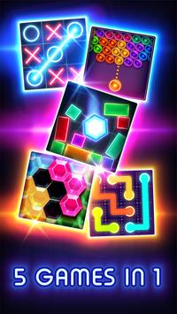 Tic Tac Toe Glow screenshot 2