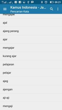 Kamus Bahasa Jawa (Kalimat) screenshot 6