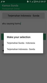 Kamus Bahasa Sunda (Terjemahan Kalimat) screenshot 3