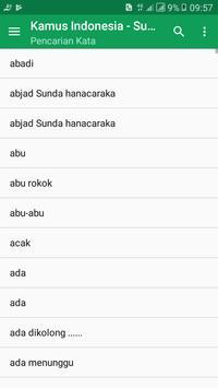 Kamus Bahasa Sunda (Terjemahan Kalimat) screenshot 4