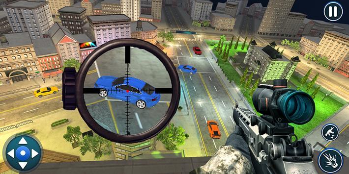 Sniper Traffic Shooter- Traffic Hunter 2019 poster