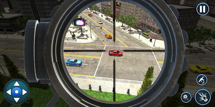 Sniper Traffic Shooter- Traffic Hunter 2019 screenshot 2