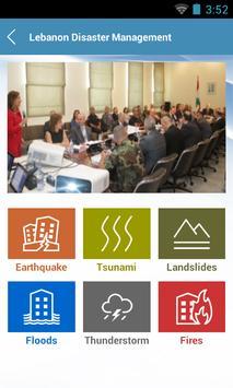 Lebanon Disaster Management screenshot 1