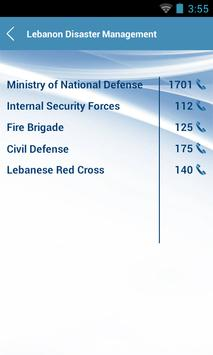 Lebanon Disaster Management screenshot 7
