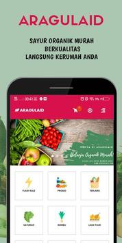 AragulaID - Sayur Organik Murah & Berkualitas poster