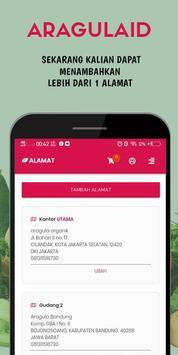 AragulaID - Sayur Organik Murah & Berkualitas screenshot 1