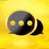Black Golden SMS - Default SMS&Phone handler biểu tượng