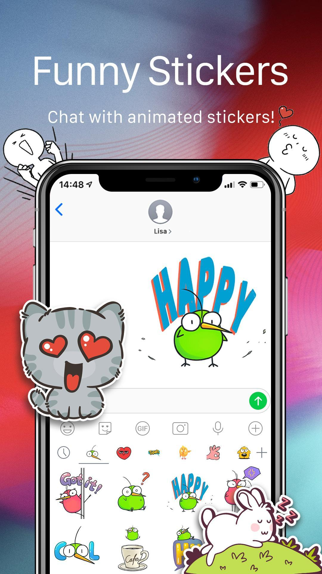 OS12 Messenger for SMS 2019 - Call app for Android - APK