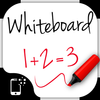 Whiteboard for kids: toddlers draw and color board icon