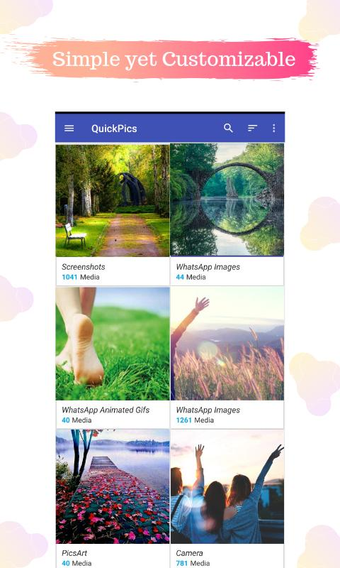 QuickPic Gallery : Image and Video for Android - APK Download