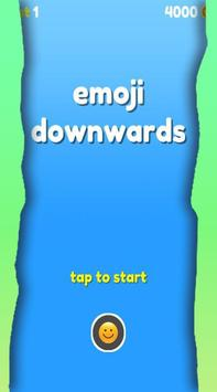 Emoji Downwards poster