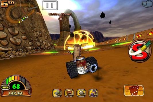 Tiki Kart 3D poster