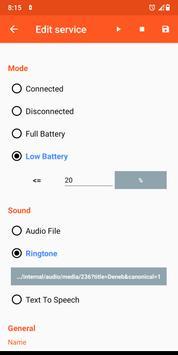 Battery Sound Notification скриншот 2